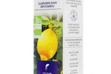 Quels sont les bienfaits de l'huile essentielle de citron ?